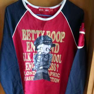 Betty long sleeves top Size L.