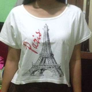 Baju paris crop