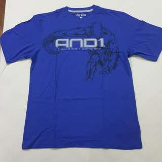 Legit BNWOT And1 Basketball T-Shirt Men's M Fits XL