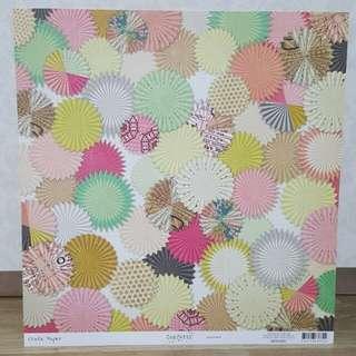 Crate Paper 'Confetti: Backdrop' Scrapbooking Paper