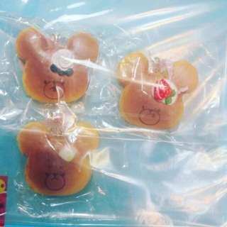bearschool pancake squishy