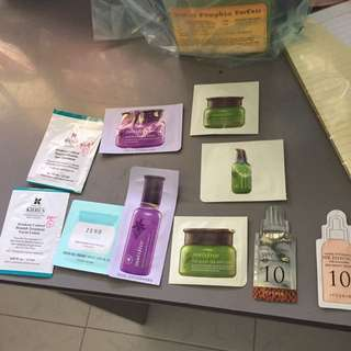 Giveaways (samples) with any purchase
