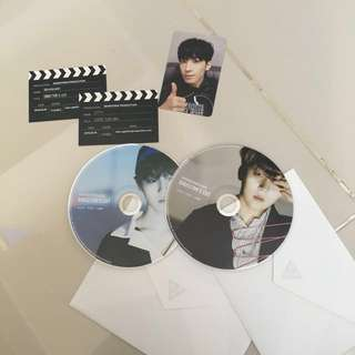 wts/wtt seventeen director's cut photocards cds postcards