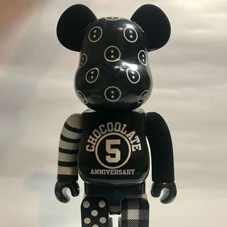 BE@RBRICK X CHOCOLATE 400% 5 Anniversary Special Edition