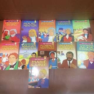 Seri Tokoh Dunia! Harga 12.500/ buku
