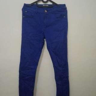 Celana Jeans Hermes Paris Warna Biru
