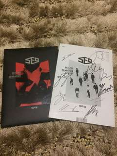 SF9 FEELING SENSATION SIGNED AUTHENTIC FROM MWAVE