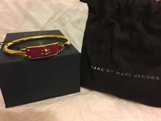 Marc by marc jacobs purple and gold bangle