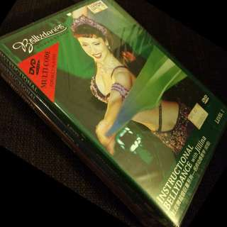 BN DVD Instructional Bellydance with Jillina Level 1 to Level 3