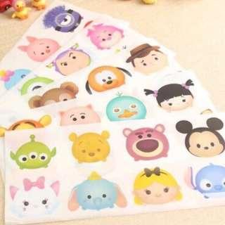 Waterproof Stickers (Tsum Tsum, Marvel etc)