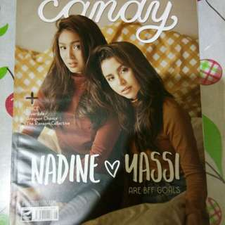 Nadine & Yassi Candy Magazine ( September 2016 ) JaDine