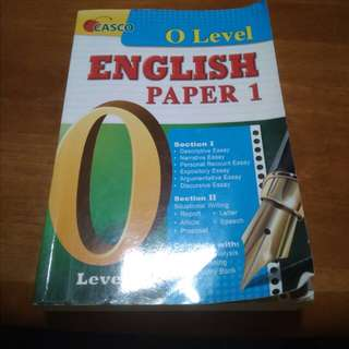Casco O Level English Paper 1