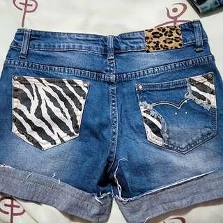Denim Shorts, size 28.