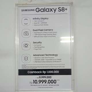 Dijual Samsung S8+ Promo Bunga 0,99%