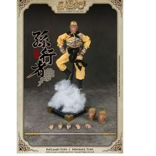 Inflames Toys x Newsoul Toys  Journey to the West - Sun Wukong (Monkey)