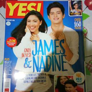 JaDine Yes! Magazine ( February 2016 )