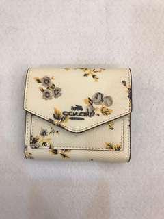 Original coach women short wallet purse pouch coin bag