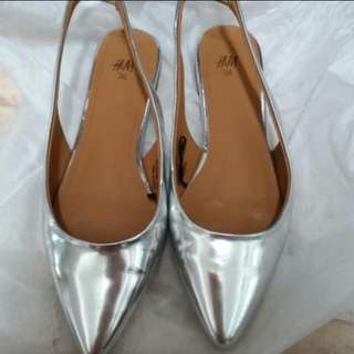 H&m 銀色鞋