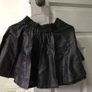 $7 PVC A-line Skirt