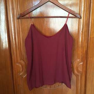 Cami top used once