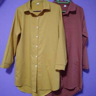 Maroon/red Blouse