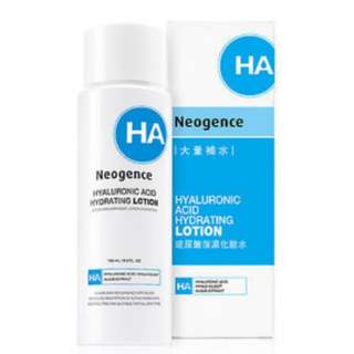Neogence hyaluronic acid hydrating lotion
