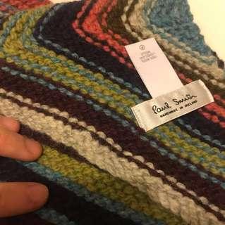 Paul Smith handmade scarf 頸巾