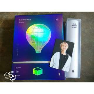 THE WING TOUR DVD WITH JHOPE PHOTOCARD