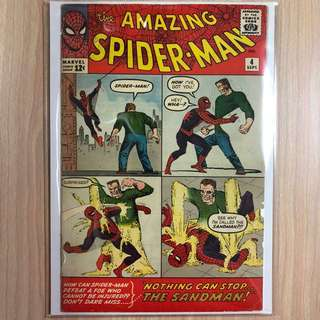 MARVEL COMICS The Amazing Spider-Man #4-Origin & 1st Appearance of the Sandman (Serious Buyers Only)