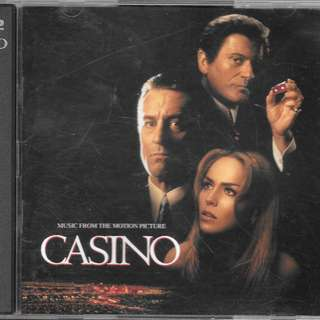 MY CD - OST CASINO - 2CDS /// FREE DELIVERY BY SINGPOST