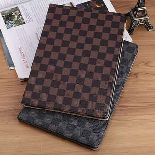 (PO) LV Inspired Luxury PU Leather iPad Cover
