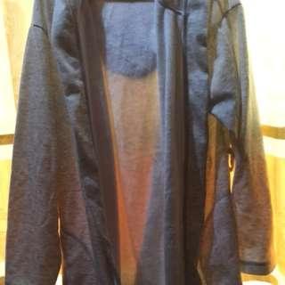 H&M DRESS HOODIE JACKET