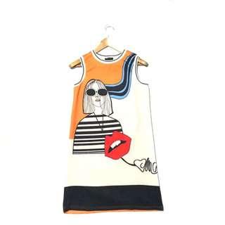 NEW LOOK printed Shift Dress