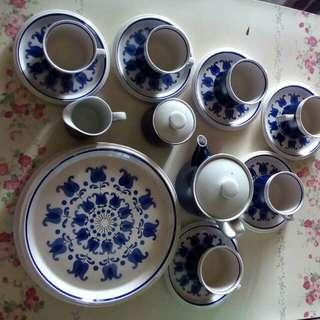 Set cangkir, lepek, made in Japan