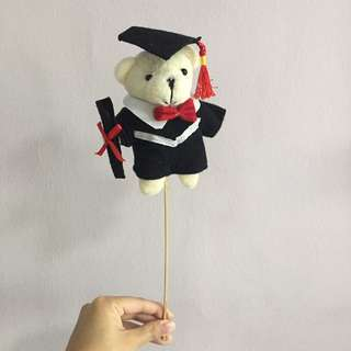 Graduation bear (for bouquet)