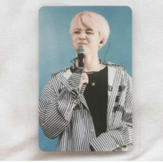 WTB/LF BTS JIMIN THE WINGS TOUR OFFICIAL PHOTOCARD