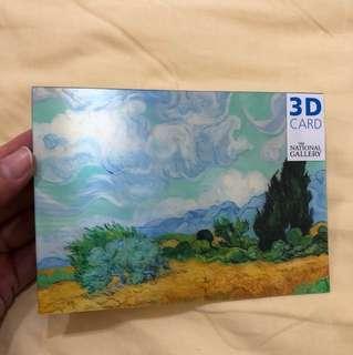 Monet 3D Postcards