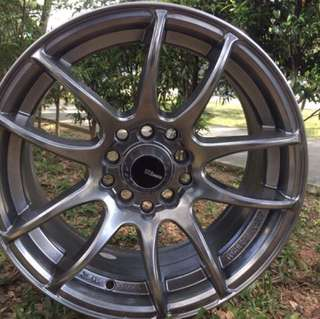 15in PCD 10H-100/114.3 Lightweights Rims On Sale