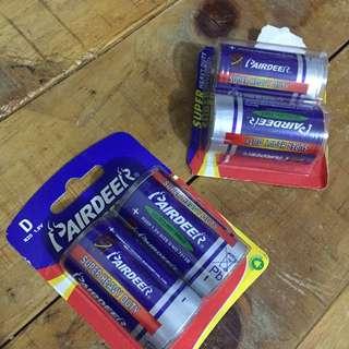 Battery D size