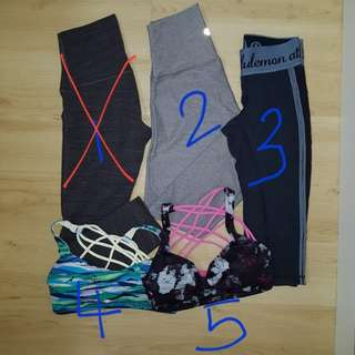 Lululemon clearance size 4 and 6