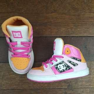DC highcut rubber shoes