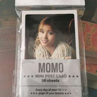 TWICE MoMo韓製mini post card56張