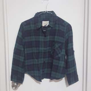 Forever 21 Crop Shirt