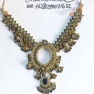 kalung vintage maharani india beli london portobello