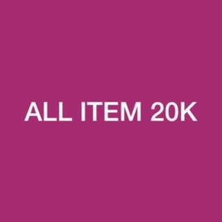 All item 20 rb
