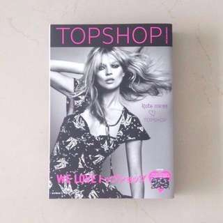 Topshop X Kate Moss Autumn/Winter 2008 Look Book Complete Styling Guide Catalogue Japanese Fashion Magazine + Clutch