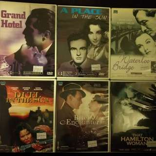 DVD Old Movies - Assorted Titles