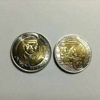 Gen. Antonio Luna 150th Birth Anniversary 10 Piso Commemorative Coin