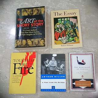 Bundle Of Literature Books