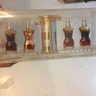 Jean Paul Gaultier Corset Perfume Miniatures